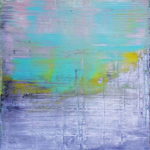 silver painting, mint green painting, minimalism, minimalistic painting