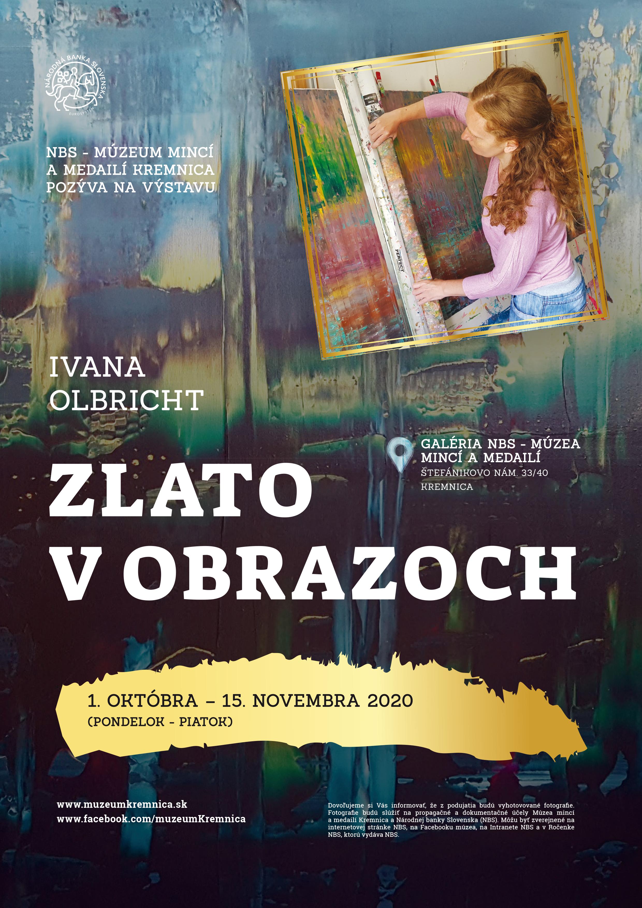 ivana olbricht, exhibtion, abstract art, art gallery